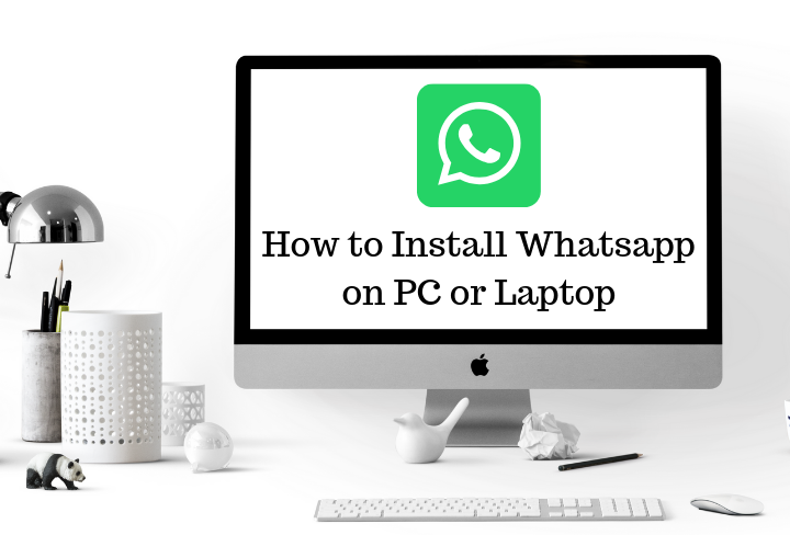 whatsapp on laptop